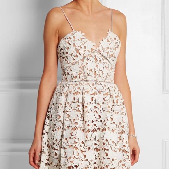 Zara Dresses Size Xs Lord And Taylor Lace White Dress Poshmark